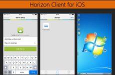آموزش کامل Vmware Horizon 7 - گزینه های Horizon Client